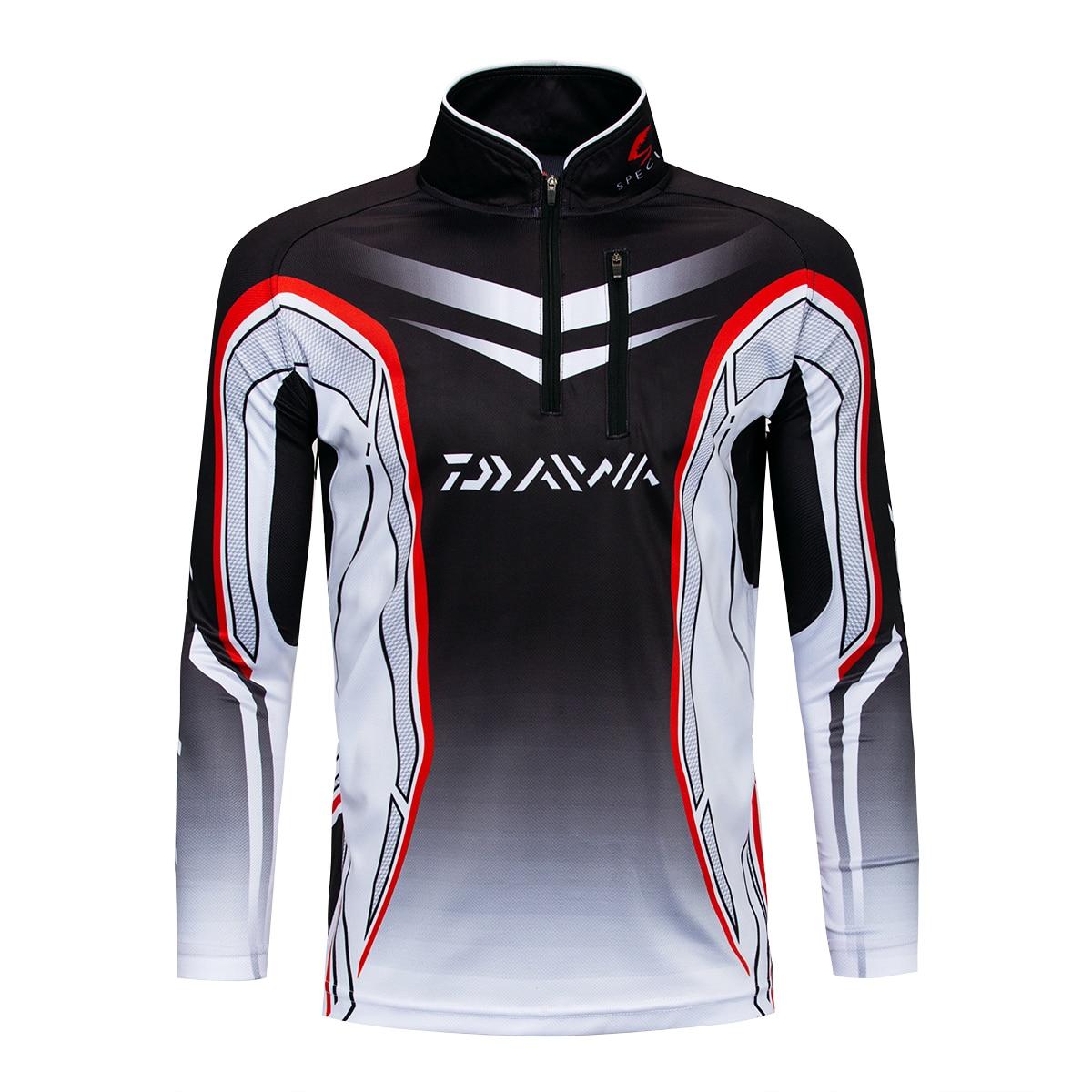 2018 New Pro Daiwa Fishing Clothing Quick-Drying Jersey Anti-UV Jacket Sports Clothes Long Sleeve