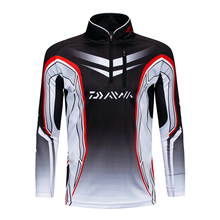 2018 New Pro Daiwa Fishing Clothing Quick-Drying Jersey Anti-UV Jacket Sports Clothes Long Sleeve