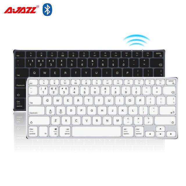 Ajazz AK3.1 Ultra thin Bluetooth Keyboard 78 Keys