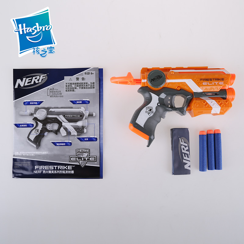Licensed Nerf Gun Elite Firestrike Blaster With 3 Darts Bullet Pistol Kids  Toys For Children-in Toy Guns from Toys & Hobbies on Aliexpress.com |  Alibaba ...