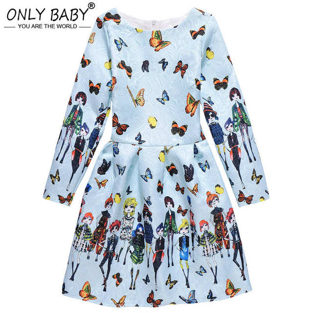 94fab31c8031 Online Shop Brand Baby Dress Long Sleeve Pirncess Girls Clothes ...