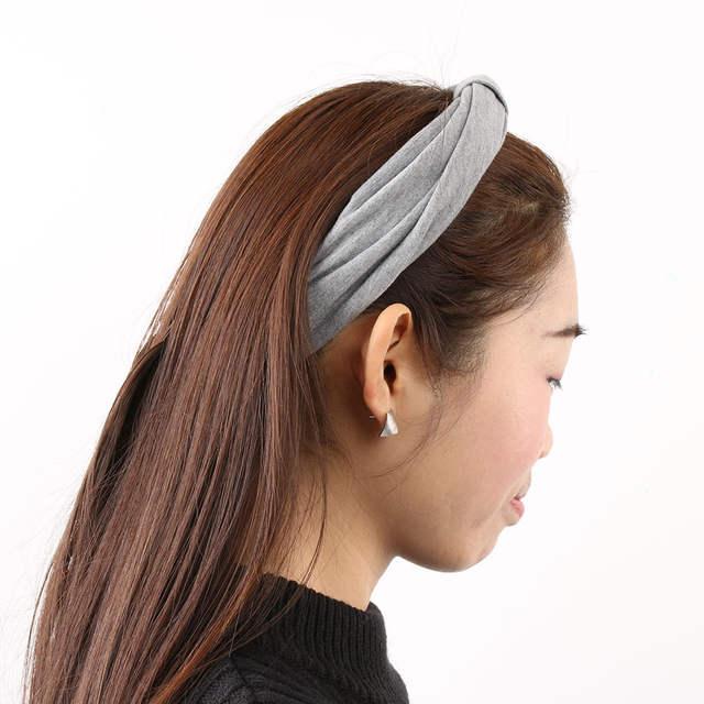 Online Shop 1 Piece Fashion Women Ladies Wide Headbands Dance Twisted  Turban Headwear Hairband Hair Accessories Fashion Head Wrap  cad79fb6eba