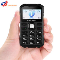 Melrose S2 Mini Shockproof Russian keyboard Single sim card Pocket student mobile phone Support Camera Bluetooth MP3