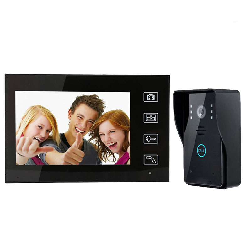 цена на Video doorbell practical function Night vision rainproof wireless intercom doorbell one-on-one touch the doorbell