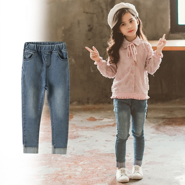 Jeans Casual Solid Denim...