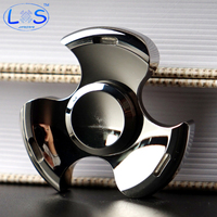LONSUN Hot Wheels High Quality Metal Fidget Spinner EDC Hand Spinner Top Rotation Time Long