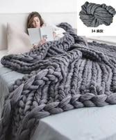 ZENGIA пряжи крючком руку Полиэстер швейные нитки/Коренастый Большой пряжа для вязания мериноса/густая шерсть пряжи для одеяла пряжи