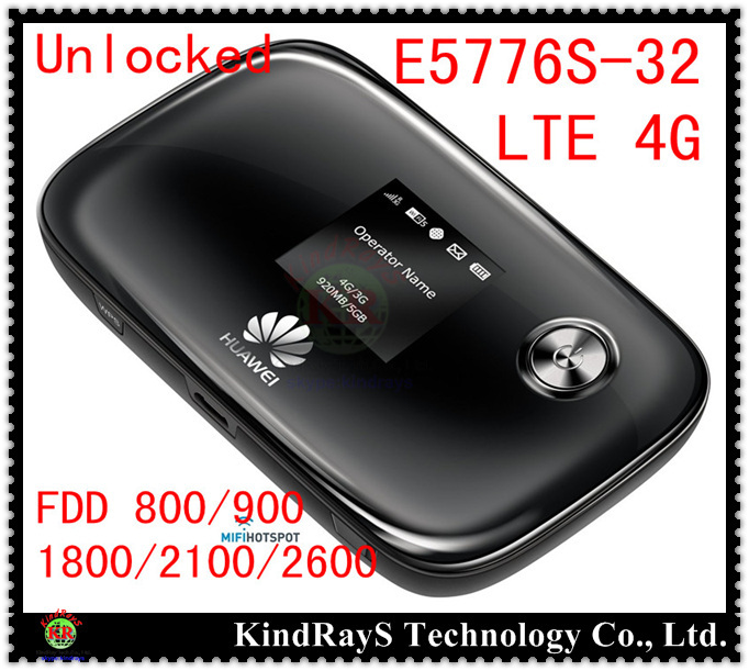все цены на  Unlocked Huawei E5776s-32  lte 4g Wifi Router Mobile Hotspot 4g mifi dongle wifi router 150mbps e5776 pk E5372 e589 e5878 e5786  онлайн