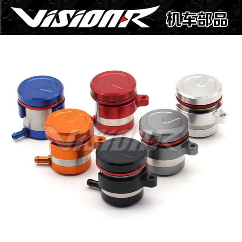 General Motorcycle CNC Aluminum Alloy Brake Pump Brake Oil Pot(China)