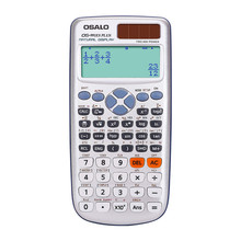 Multi-function school student calculator scientific calculator solar dual power slim portable 10+2 digits function calculator цены