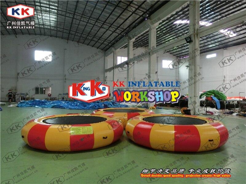 Cerchio galleggiante in acqua di Ricreazione gonfiabile acqua trampolinoCerchio galleggiante in acqua di Ricreazione gonfiabile acqua trampolino