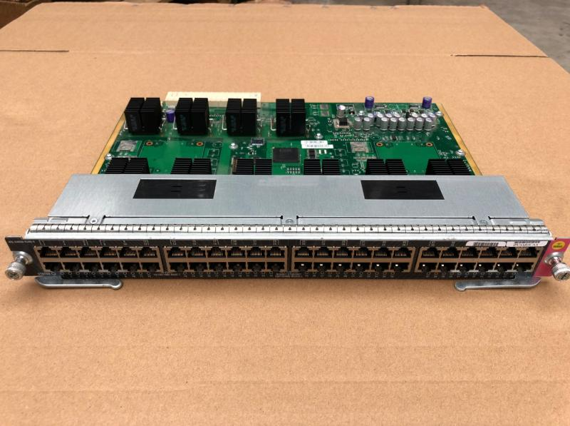 used WS X4648 RJ45 E 45 series switch 48 port electrical port board