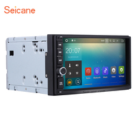 Seicane 2 Din Universal Android 7 1 Car Radio GPS Navigation System With Bluetooth WIFI Support
