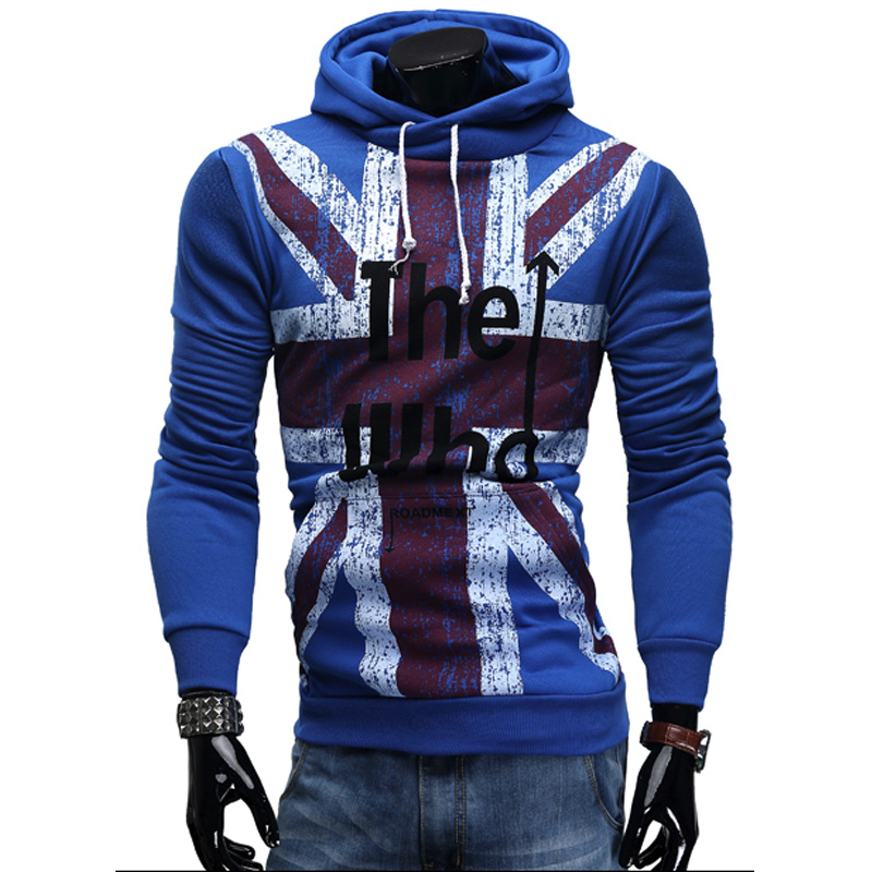 2018 New Fashion Hoodies Brand Men American Flag Pattern Sweatshirt Male Mens Sportswear Hoody Hip Hop Autumn Winter Hoodie Xxl Men's Clothing