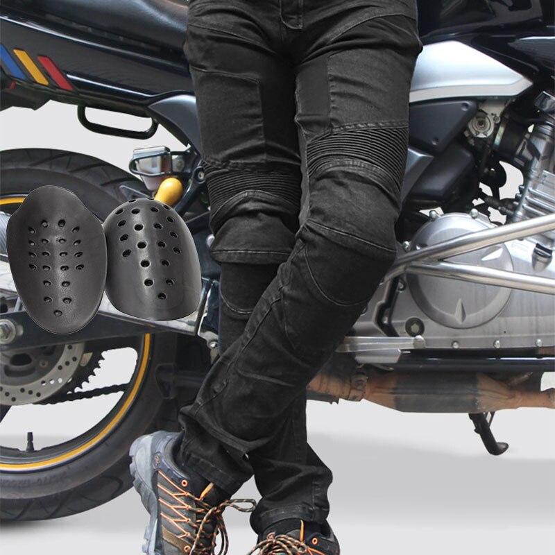 Japan KOMINE MOTORCYCLE JEANS WITH PAD DENIM BIKER BLUE BLACK DISTRESSED//PANTS*