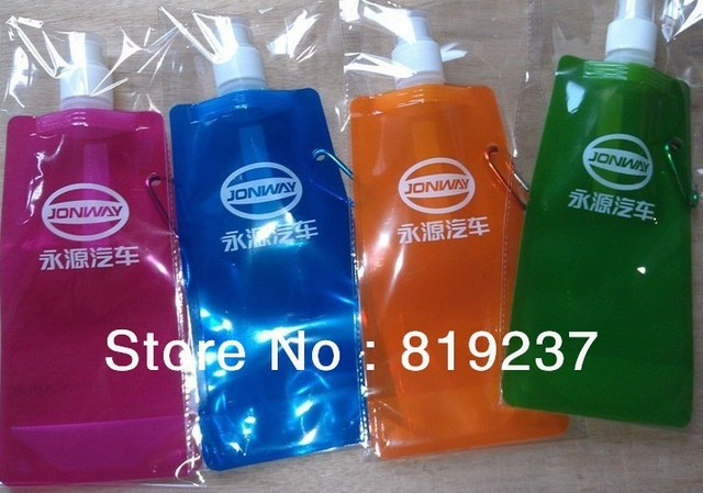 Custom Foldable Water Bottle,Wholesale Customized Logo Folding Water Bottle,Personalised Foldable Plastic Water Bottles
