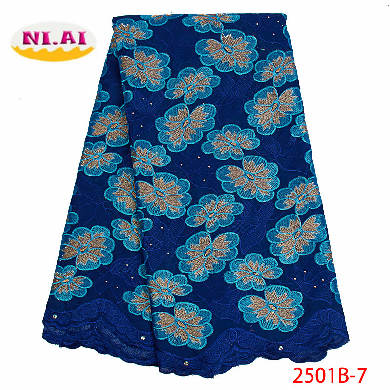Swiss Voile Lace In Switzerland High Quality 2019 Cotton Dry Lace Material Nigerian Embroidery Swiss Voile