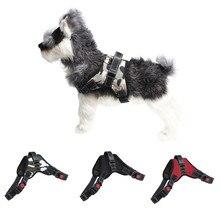 1 шт. нагрудные ремни Базовая Холтер ремни для домашних животных Регулируемый жилет нагрудный ремень для прогулок тяги для маленьких средних собак S~ XL Oct#2