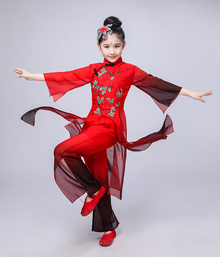 Stage & Dance Wear Novelty & Special Use Children Chinese Traditional Dance Costume Girls Hanfu Dress Chinffon Kids Princess Dance Costume Stage Fairy Dresses Dwy1308