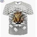 Mr.1991 модный бренд мило сверхдержав кот 3D футболки для мальчиков мода девушки 3D майка большие дети 12-18 лет майка A9