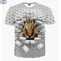 Hot Sale Fashion Cute Super Powers Cartoon Cat 3D T Shirt For Boys Fashion Girls 3D