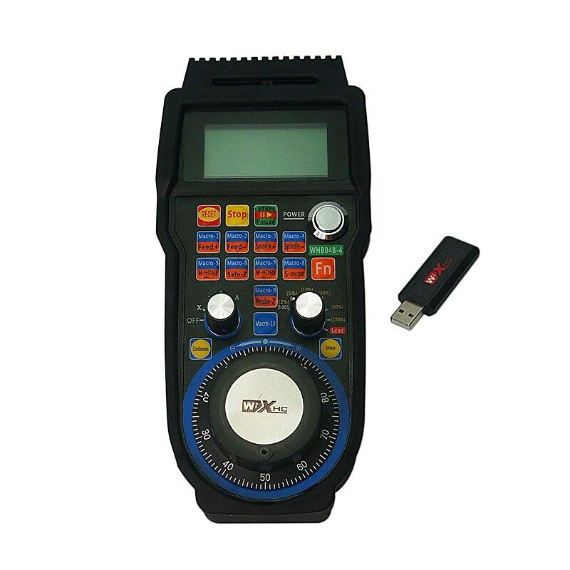 Mach3 commande poignée roue USB volant support 4 axes CNC machine de gravure