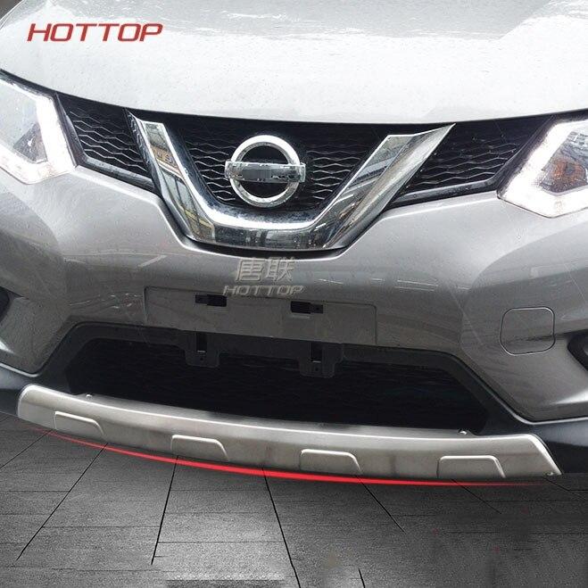 Avant Et Pare-chocs Arrière Protecteur Plaque de protection Seuil Couvre Pour Nissan X-TRAIL X Trail T32 2014 2015 2016 2017 2018