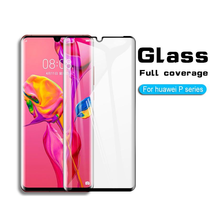 Protective Glass For Huawei P30 Pro P20 Lite pro p20 glass on lite Screen Protector