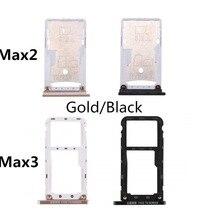 1 шт лоток для sim-карты для Xiaomi Mi Max 2 3 лоток для sim-карты TF лоток адаптер держателя слота Запасная часть