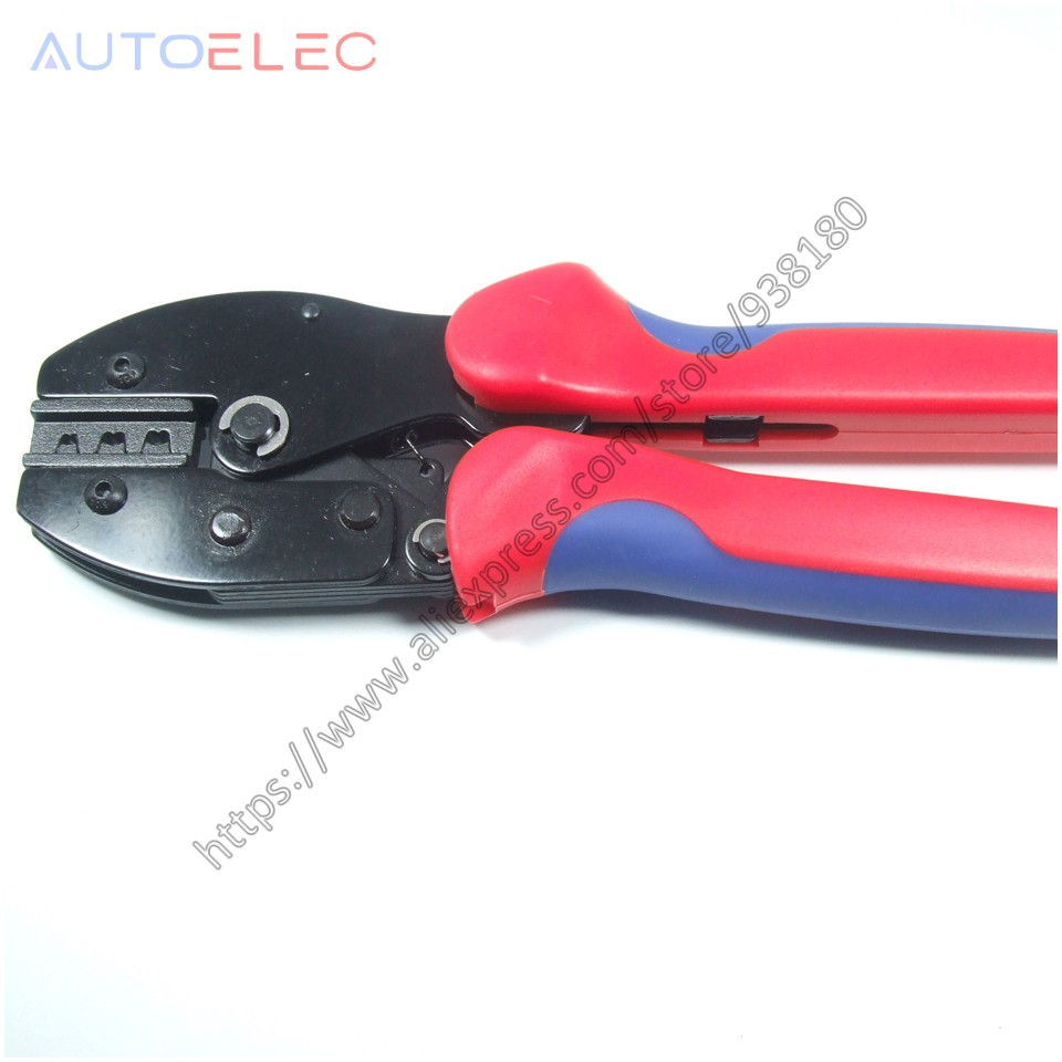 Blue MC4 Wire Crimping Tool Crimper for 2.5-6.0mm2 Solar Panel PV Cables