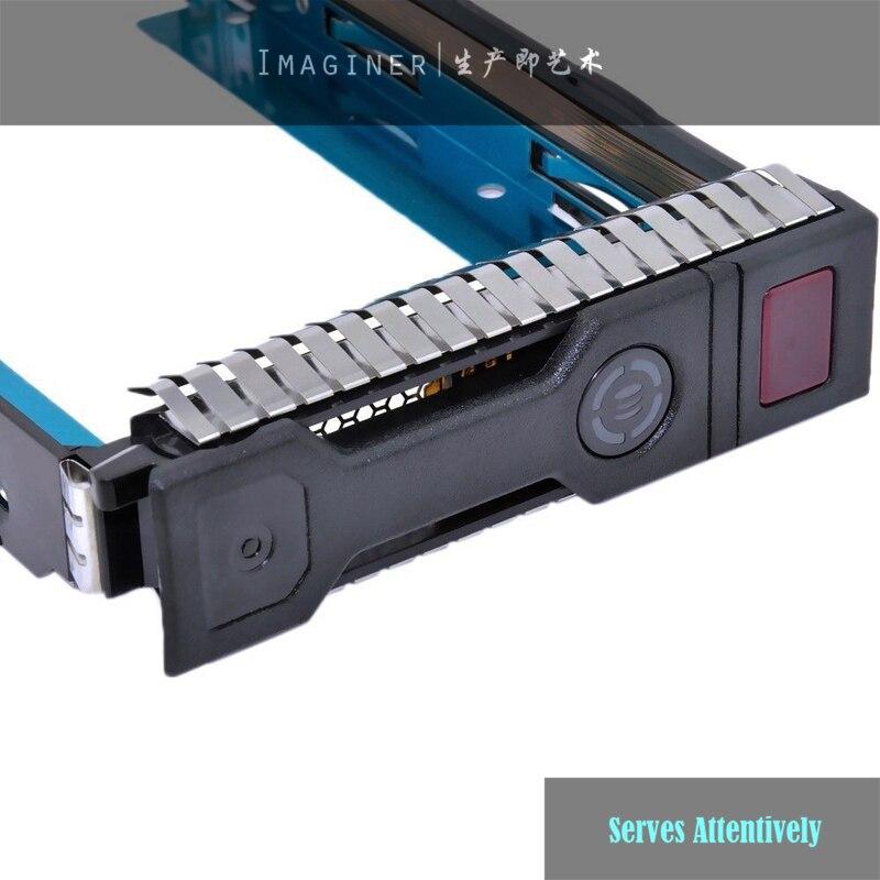 Memory Card Adapters High Quality Original Chips Hard Drive Caddy 651314-001 3.5 Gen8 Sas Sata Hdd Tray Caddy Sled Ml350e Ml310e Sl250s G8 Comfortable Feel
