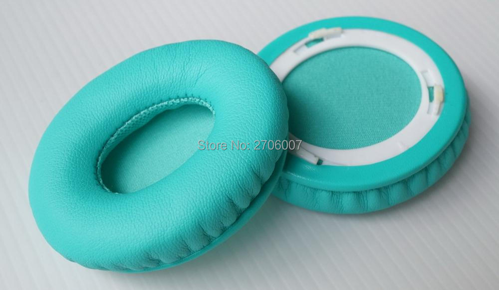Maintenance earmuffs Replace for Beats By Dr Dre Solo 1.0 Solo1.0 Solo HD headset Bright blue(Ear pads)Nondestructive quality