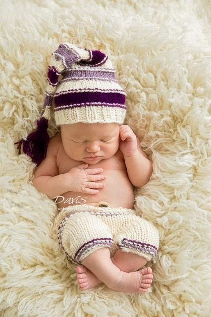 Neugeborenen neugeborenen fotografie requisiten stricken muster ...