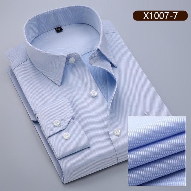 10XL koszule męskie z długim rękawem Casual wiosna bawełna  xRUJJ