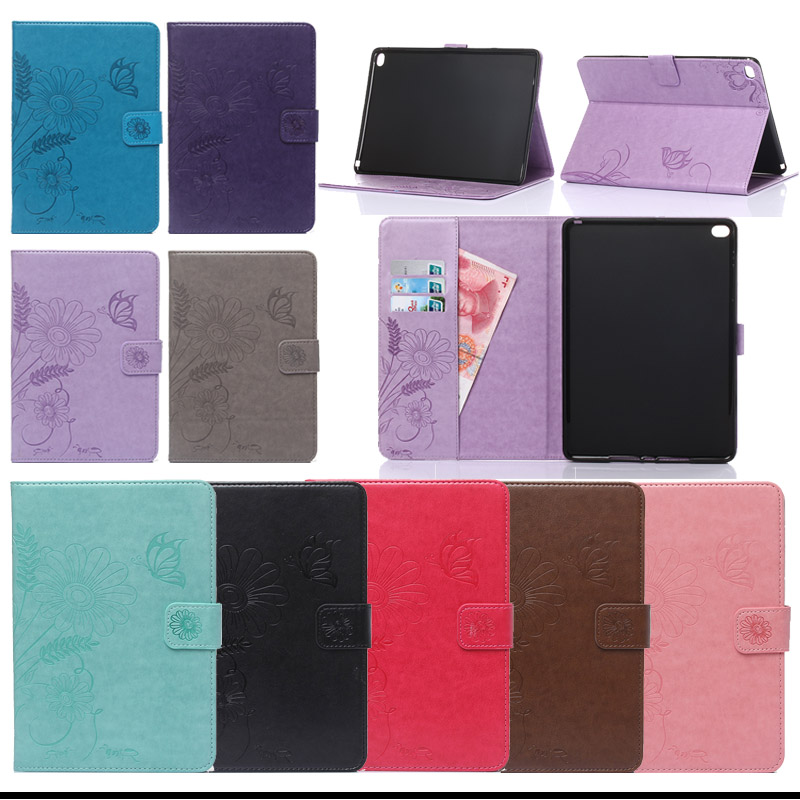 For Apple iPad Air 2/iPad 6(2014) Flip PU Leather Case cover