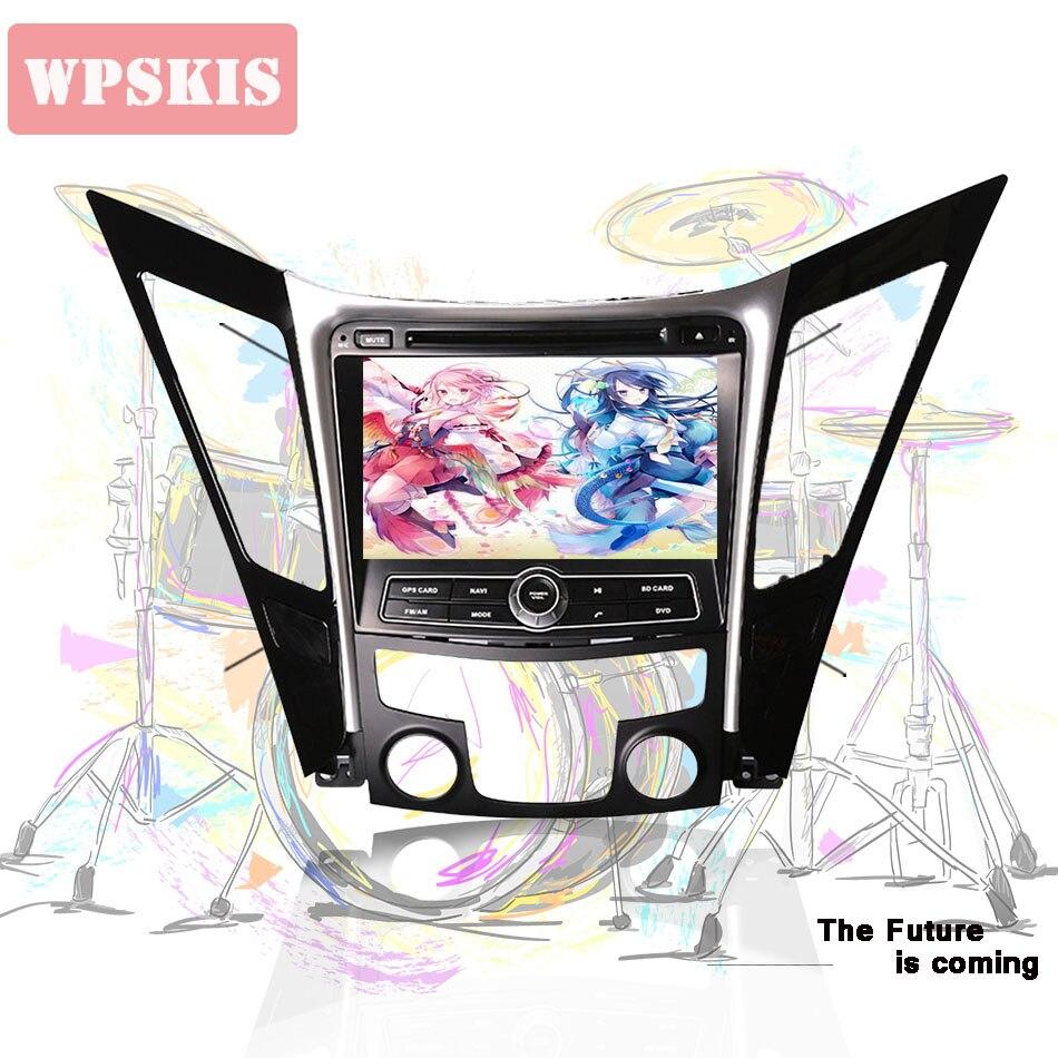Android 9.0-lecteur CD DVD de voiture   Android 2011, RAM 4G 64 go 2, pour Hyundai sonata I40 I45 YF 2015-, unité stéréo de voiture, navigation GPS