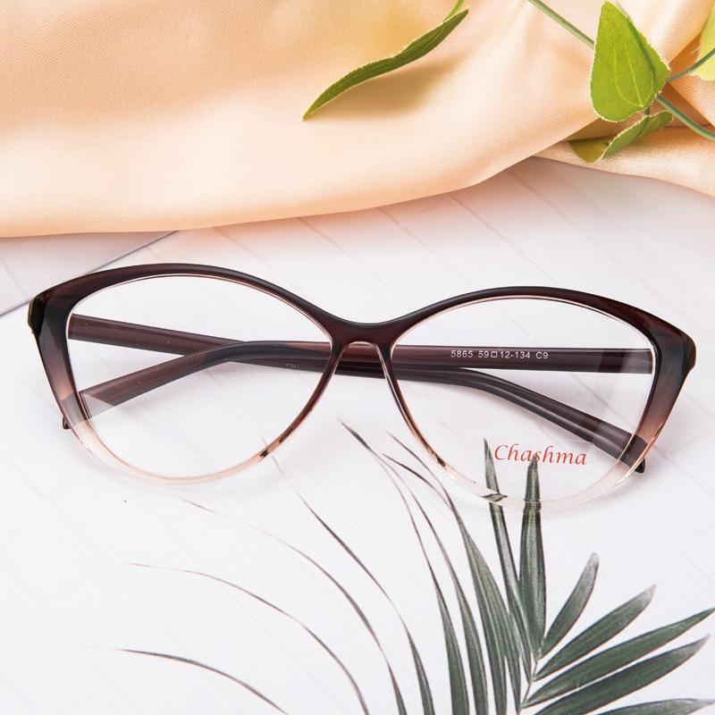 Chashma TR 90 Eyeglasses Qualität und Mode Cat Eyes Stilvolle - Bekleidungszubehör - Foto 2