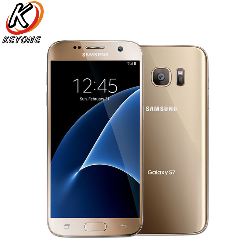 D'origine T-Mobile Version Samsung Galaxy S7 G930T 4g LTE Mobile Téléphone 5.1 4 gb RAM 32 gb ROM Quad Core NFC 12MP Portable Appareil Photo Téléphone