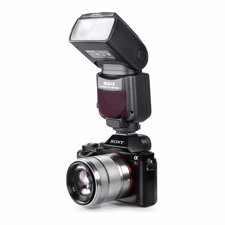 MEIKE MK-930 II LCD GN58 Flash Speedlite for Sony MI Hotshoe Camera for A9 A7R4 A7 III A7M3 A7 A7R A7S A7 II A7R II A6300 A6000