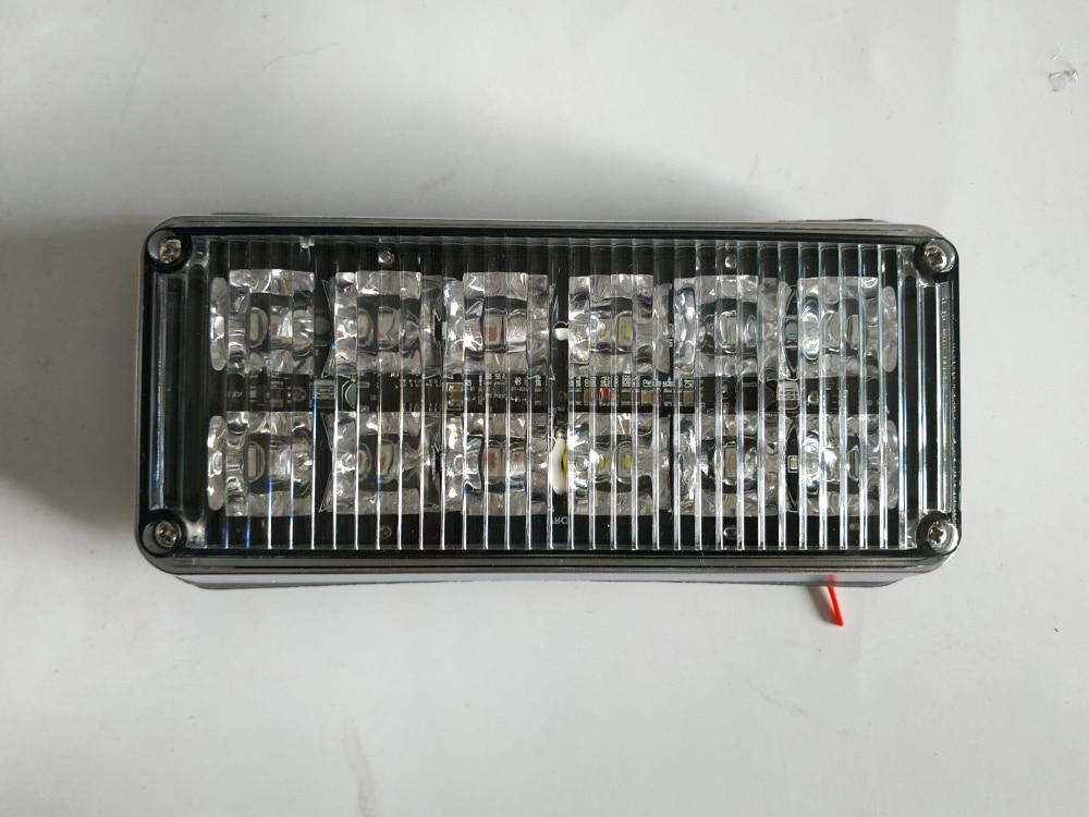 Heldere 12 W Led auto oppervlak montage strobe waarschuwingslichten, ambulance licht, fire emergency lamp, waterdicht, 2 pcs/1 lot - 4