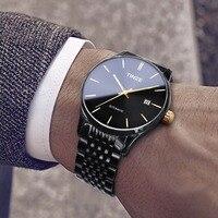 Jam tangan pria часы Мужские механические zegarek meski mechaniczny otamatik saat водонепроницаемые Брендовые Часы из нержавеющей стали zegarki