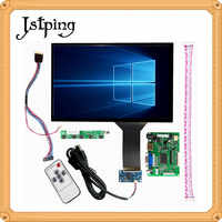 Jstping 15.6 inch LP156WH4 TLA1 LCD screen Monitor Driver Board Control HDMI VGA Capacitive touch screen panel for Raspberry Pi