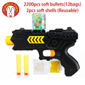 Lovely Too Paintball soft  gun water orbeez gun EVA bullet + water bomb dual-purpose pistol bursts of crystal toy shooting nerf