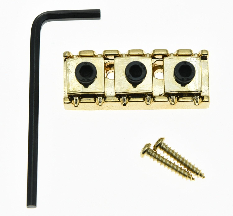 KAISH R3 Guitar 43mm Locking Lock Nut String Lock Fits Floyd Rose Tremolo Bridge Gold