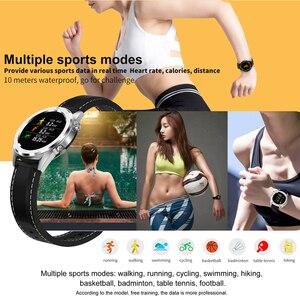 Image 3 - Hot Koop Dtn O.i Dt NO.1 DT28 Ecg Detectie Hartslagmeter Smart Horloge IP68 Waterdicht Activiteit Fitness Track Bloed druk