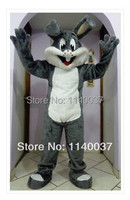 mascot Easter Grey Bugs Bunny Mascot Costume Adult Size Bugs Bunny Mascotte Outfit Suit