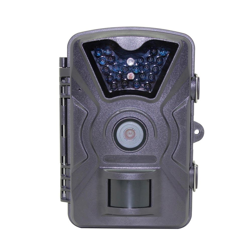 все цены на 12MP 1080P HD Game Trail Hunting Camera IP66 Waterproof Infrared Night Vision 24pcs 940nm Black IR LEDs Scouting Hunter Cam онлайн