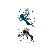 Hot Design Tatoo Waterproof Temporary Tattoo Stickers For Kids Body Art Flower Fairy CA-002 Fake Tattoo For Man