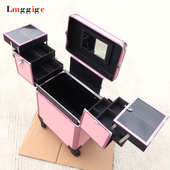 Cabin Cosmetic Makeup Suitcase Trolley