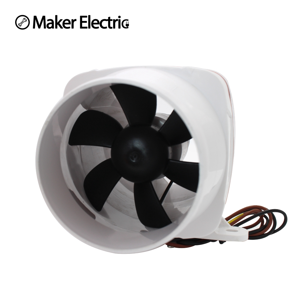 Boat Ceiling Fan Us 33 64 11 Off Air Blower Marine Boat 24v 4
